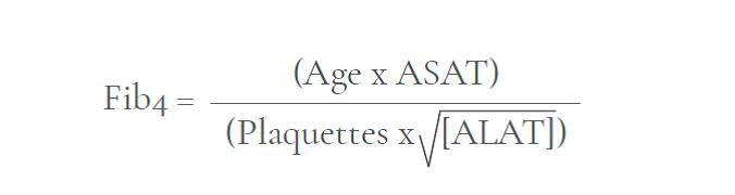 Formule de calcul Fib4